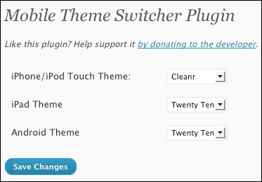 theme switcher